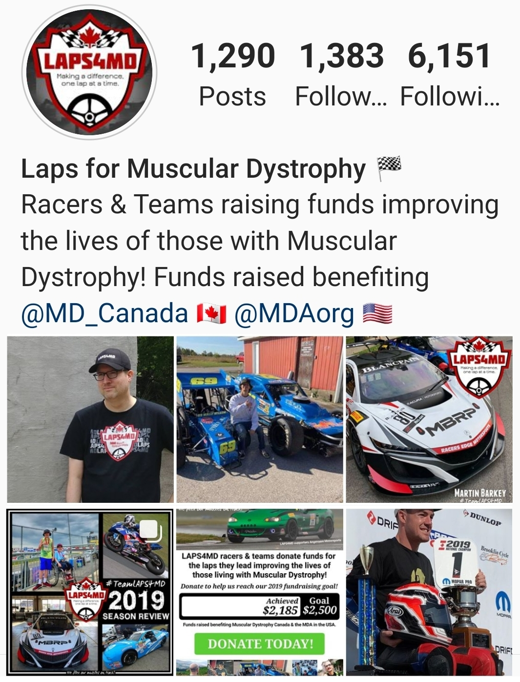 FOLLOW LAPS4MD ON INSTAGRAM