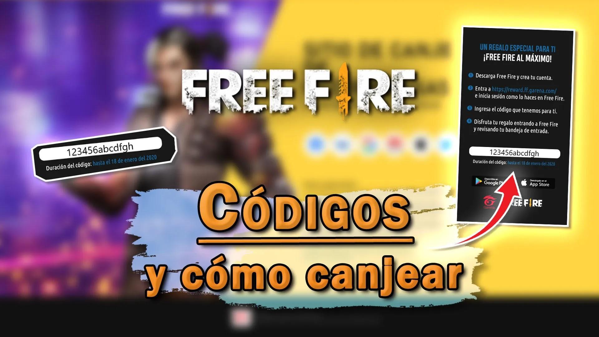 Códigos de promoción para Free Fire