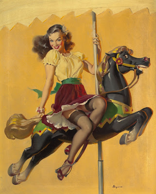 Gil Elvgren pin up