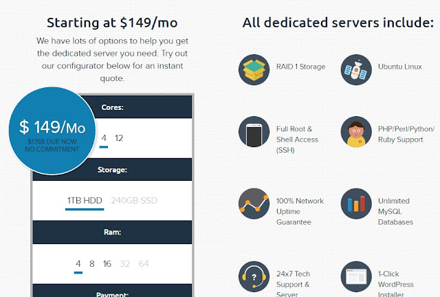 DreamHost Dedicated Server Price together with Plans