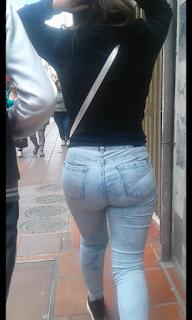 Video sexy chica caminando calle
