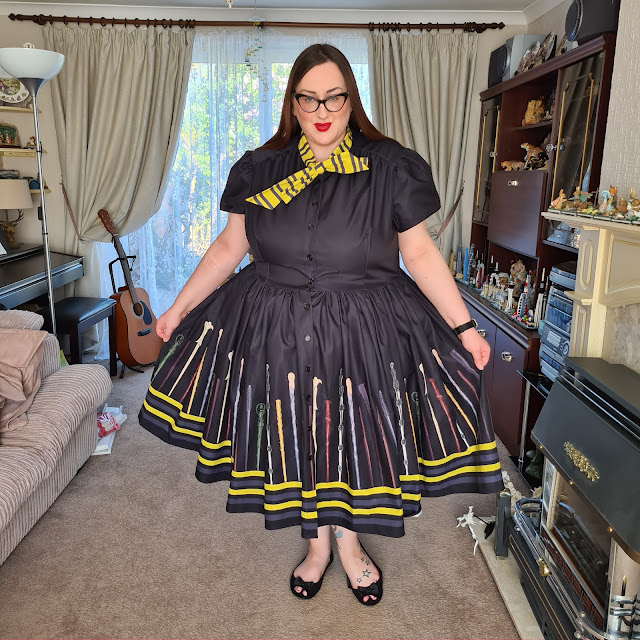 harry potter wand dress
