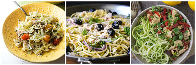 Pasta & Noodle Recipes with Tuna: 17 Ideas for Using Canned Tuna Round-Up