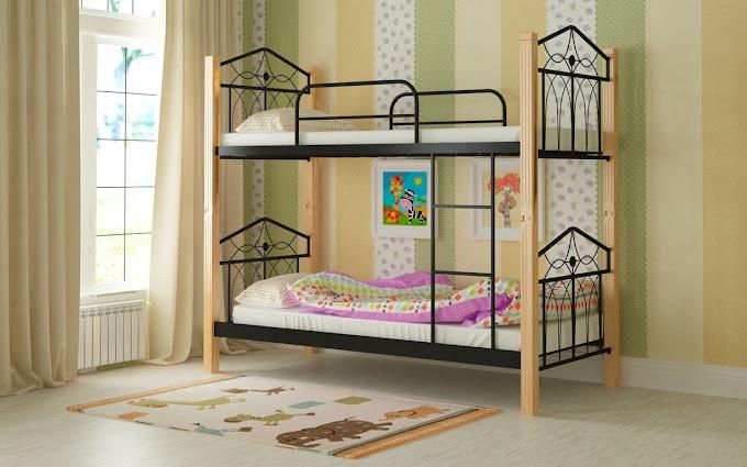 Кровать двухъярусная металлическая Тиара 80х190/200 ТМ Мадера