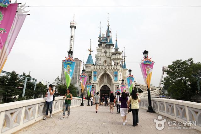 Lotte World, Lokasi Syuting Drama Korea