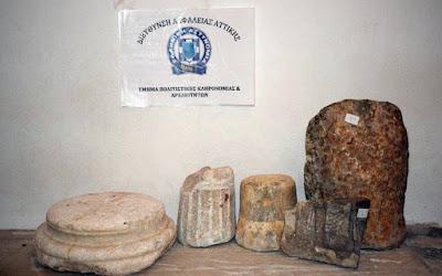Λακωνία: Σύλληψη 65χρονου για παράνομη κατοχή αρχαίων μνημείων