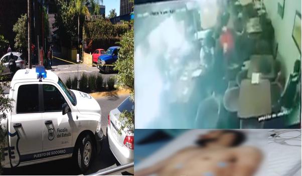 Video: Sicarios se llevan a hombre dentro de restaurante en Andares en Zapopan, el Sicario que subieron herido a la camioneta murió