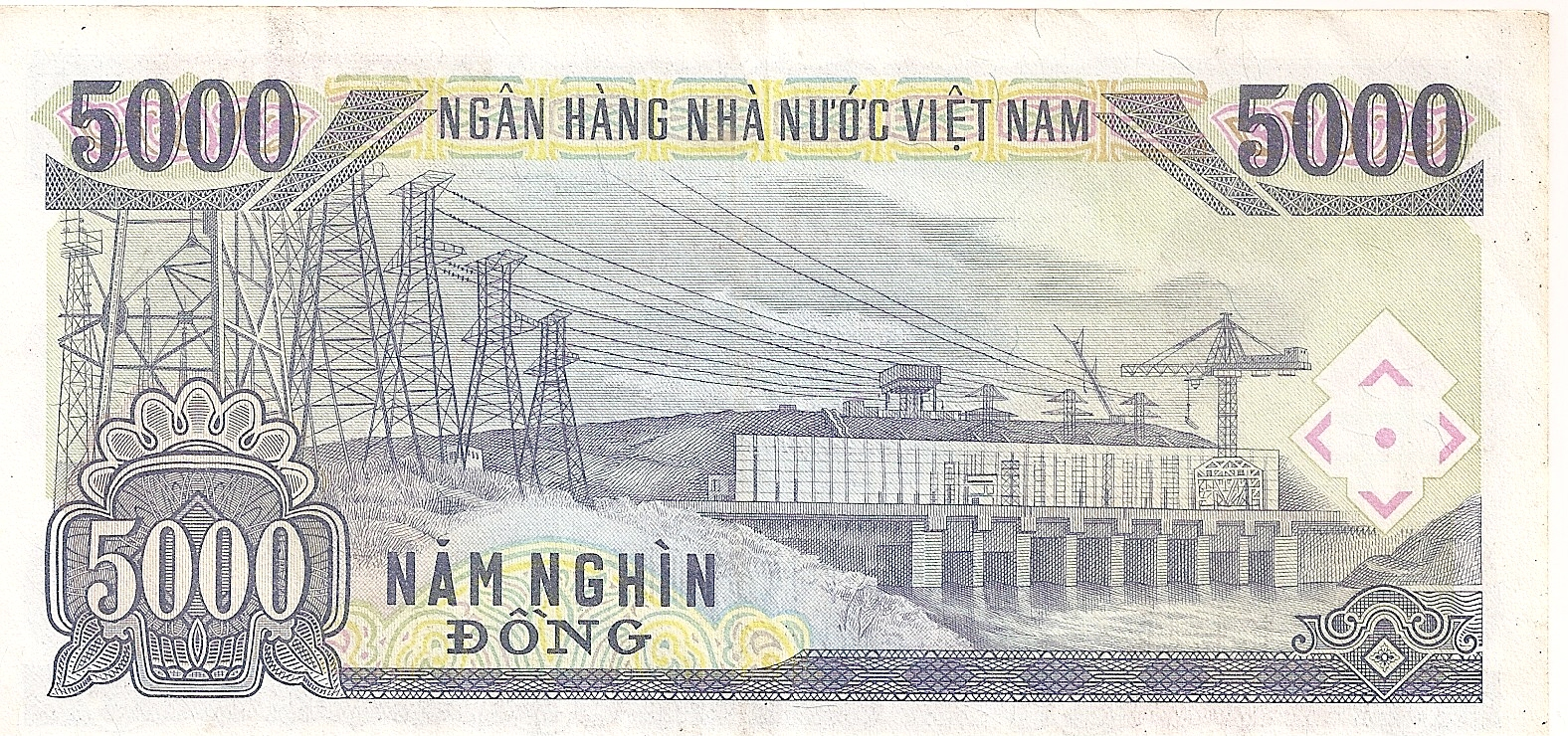 The 5000 dong banknote it is also referred to as the quot nam nghin dong