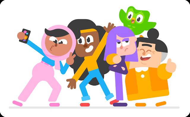 Duolingo: ¡Mirad detrás! ¡Un un búho verde!