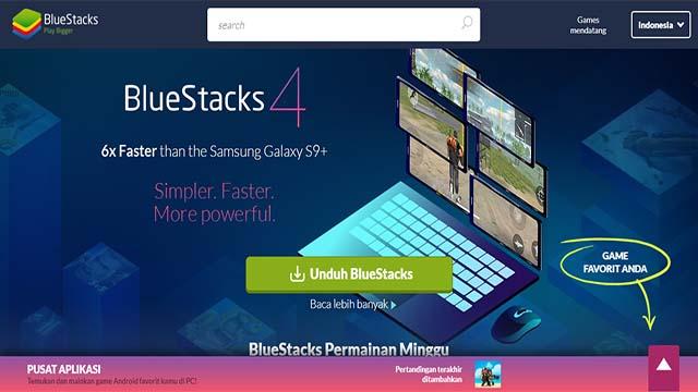 Bluestack - Emulator Terbaik Untuk Bermain Free Fire PC