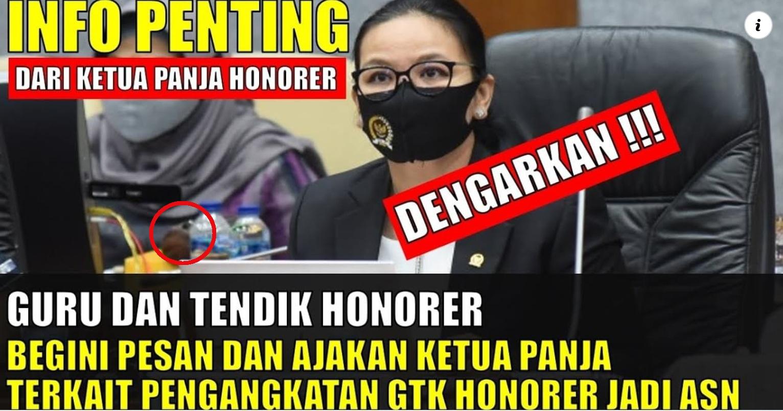 Info penting Dari ketua Panja Honorer : Guru dan Tendik Honorer diangkat Menjadi ASN, Pengabdian Menjadi Prioritas Utama