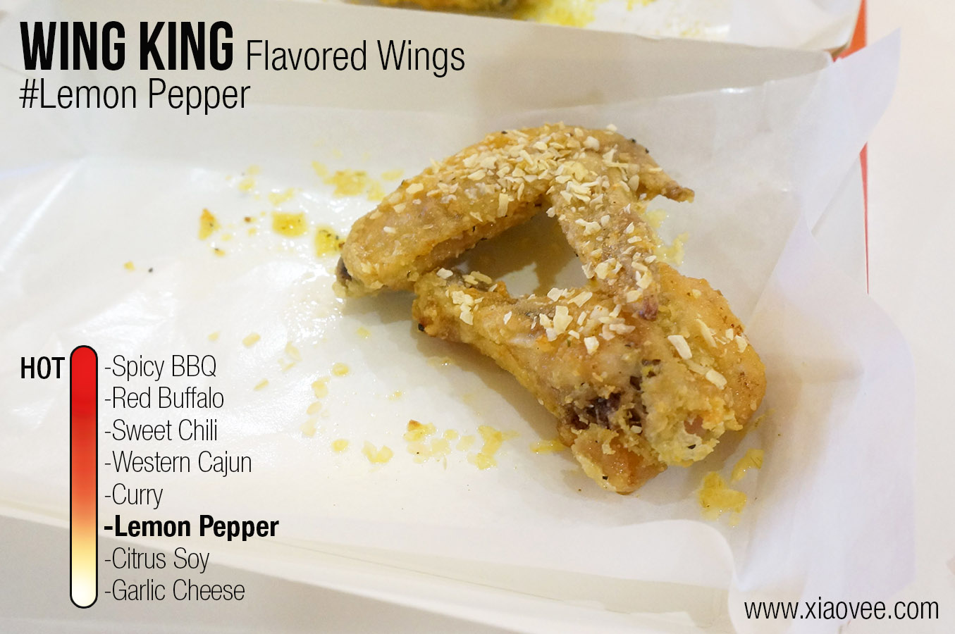 flavored wing king lemon pepper
