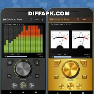 Dub Music Player – Audio Player & Music Equalizer Apk v4.91 [Premium] [Latest]