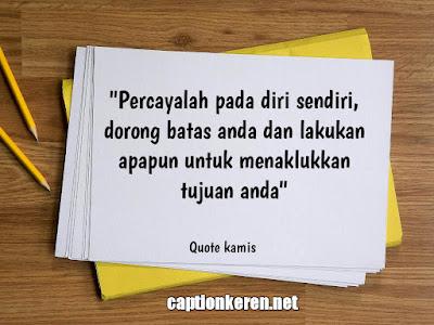 quotes hari kamis untuk inspirasi