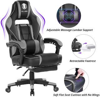 Killabe viscoelastic chair gaming