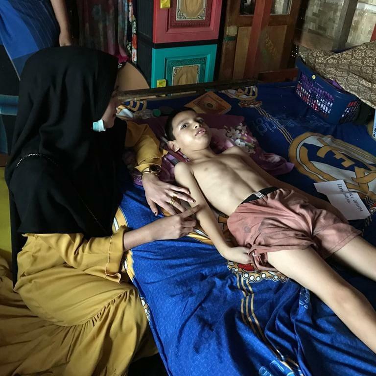 Aldi Bocah dari Keluarga Dhuafa yang menderita Lumpuh || KondisiAceh Utara