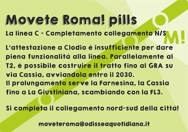 Movète Roma Pillola, numero 2, la Metro C (ancora)