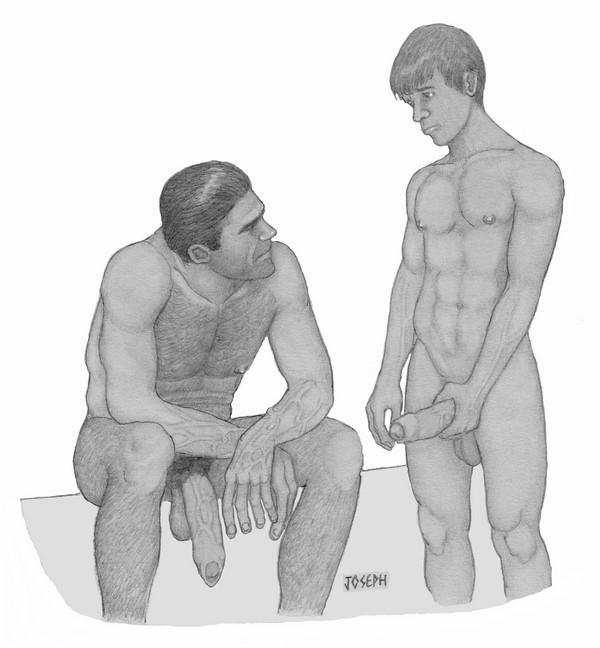 L'adolescence aime les hommes matures ce