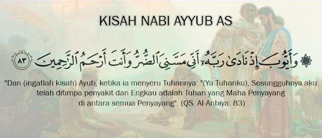 kisah nabi ayub as qs al anbiya 83