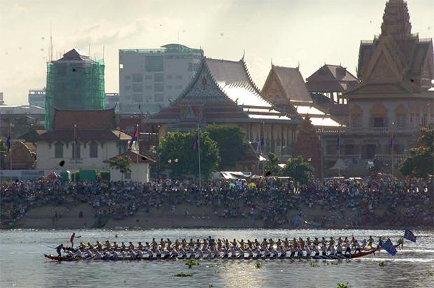Phnom Penh : Première journée du Festival des Eaux