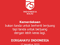 Gambar Hut RI ke-75 dan Makna Hari Kemerdekaan Republik Indonesia