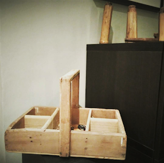 Antigua caja de herramientas
