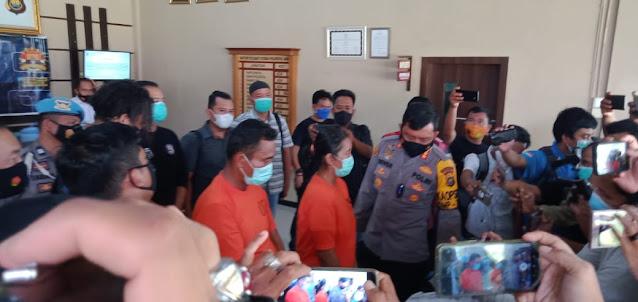Tim Gabungan Resmob Polda Jambi Bersama Tim Satreskrim Polresta Jambi Meringkus Pembunuh Karyawan Koperasi