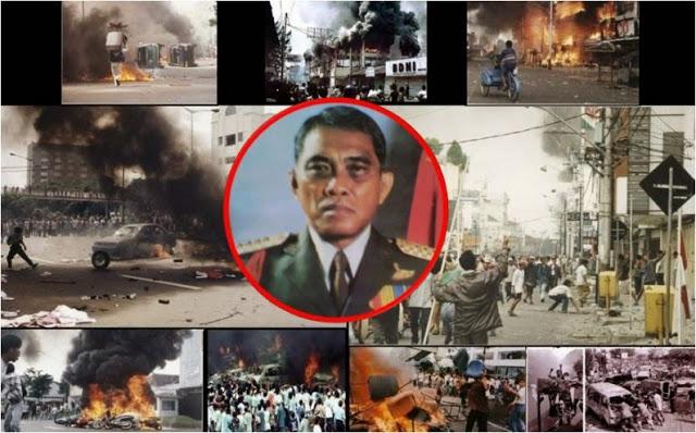 Innalillahi… Terbongkar, di Belakang Jokowi Ada Jenderal-Jenderal Dalang Kerusuhan Mei 1998