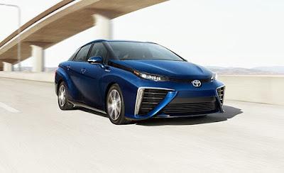 Hydrogen fuelled Toyota Mirai