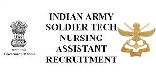 Indian Army Nursing jobs
