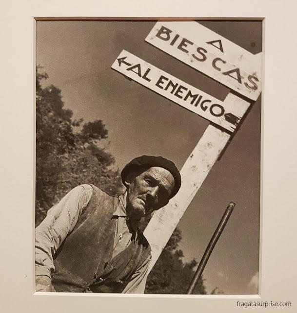 Fotografia de Agustí Centelles: um combatente na Frente de Aragão na Guerra Civil Espanhola