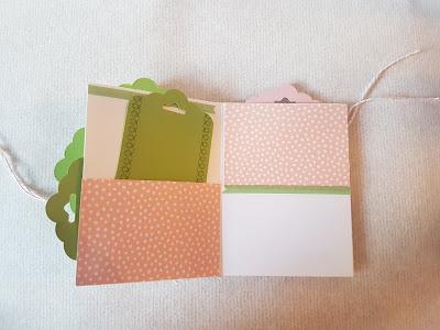 Stampin'Up! - Minialbum - Stoffpapier - Glücksfälle - Glücksmomente
