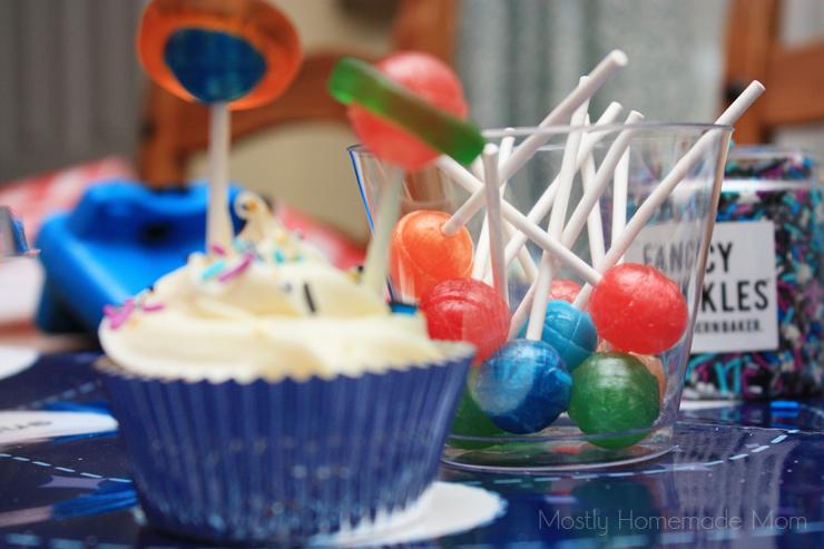 galaxy planet cupcakes recipe