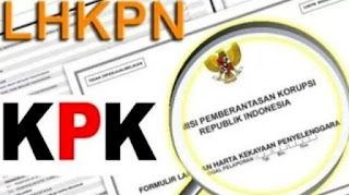 Pengumuman tentang Laporan LHKPN Paslon Nomor Urut 3