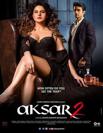 Poster Of Bollywood Movie Aksar 2 2017 300MB Pdvd Full Hindi Movie