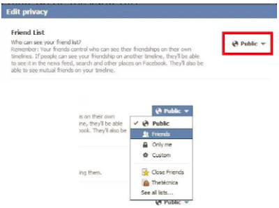 How To Hide Friend Lists On Facebook