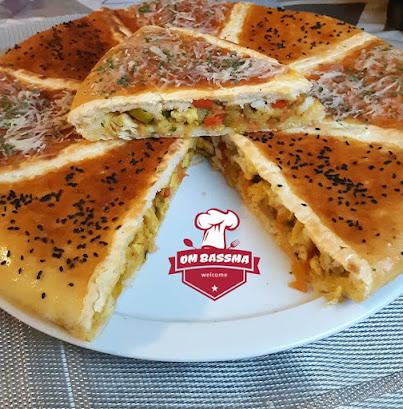 خبزة معمرة في الفرن