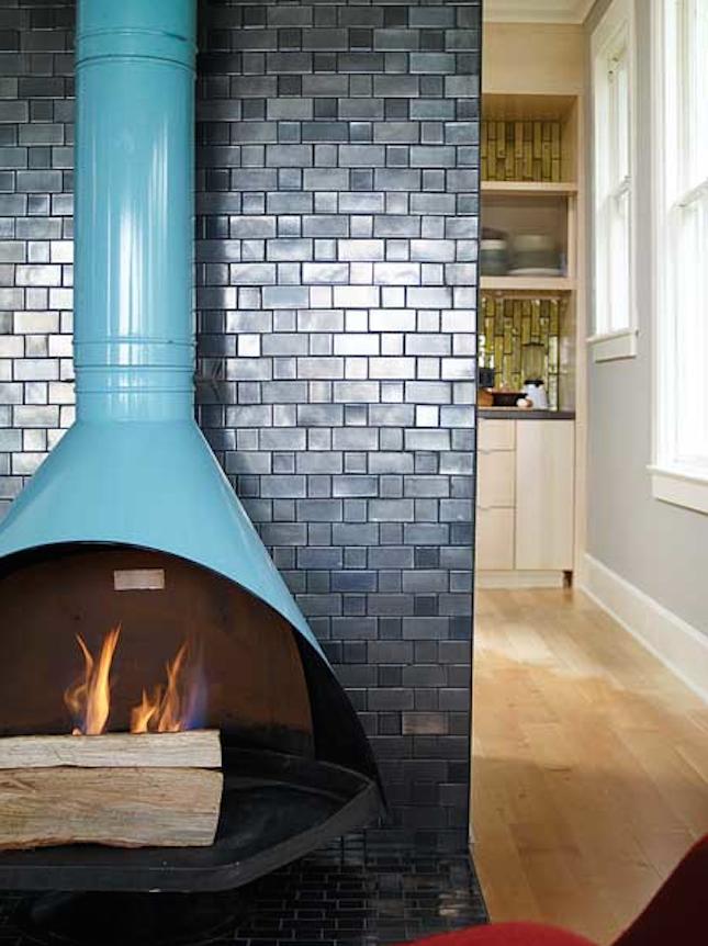 Aqua malm wood burning stover