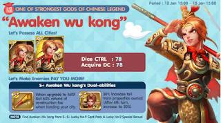 Trik Mendapatkan Kartu Karakter S Dan S+ Awaken Wukong GET RICH Lgr cover