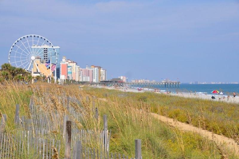 Beaches in South Carolina