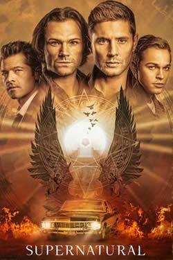 Capa da Décima Quinta temporada de Supernatural