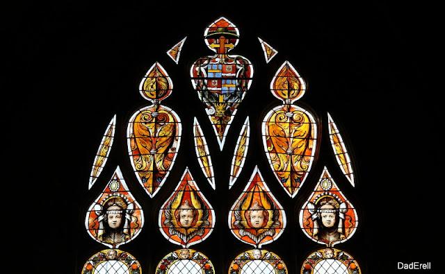 Vitrail, cathédrale Sainte-Marie, Auch