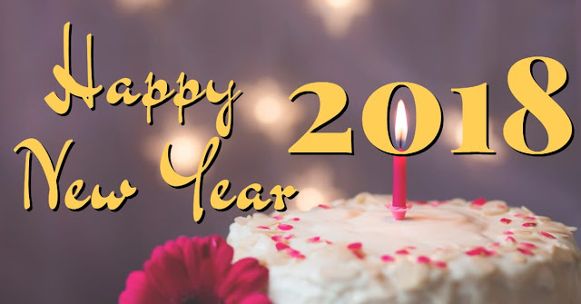 happy new year cake 2018