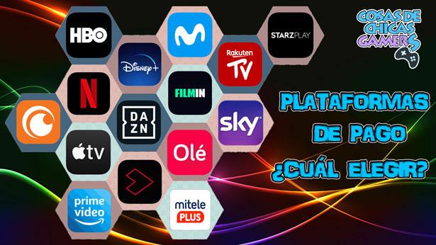 Plataformas de pago en streaming TV