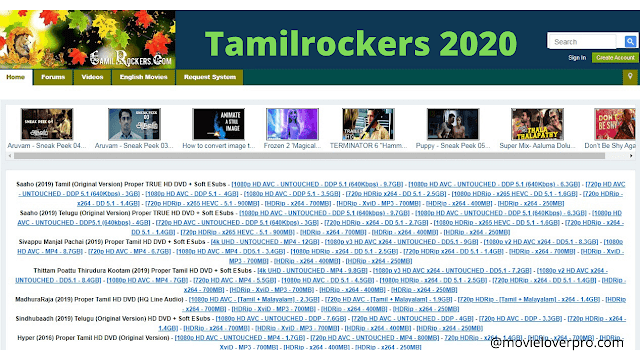 Download hd tamil,telugu,bollywood and hollywood movies by tamilrockers