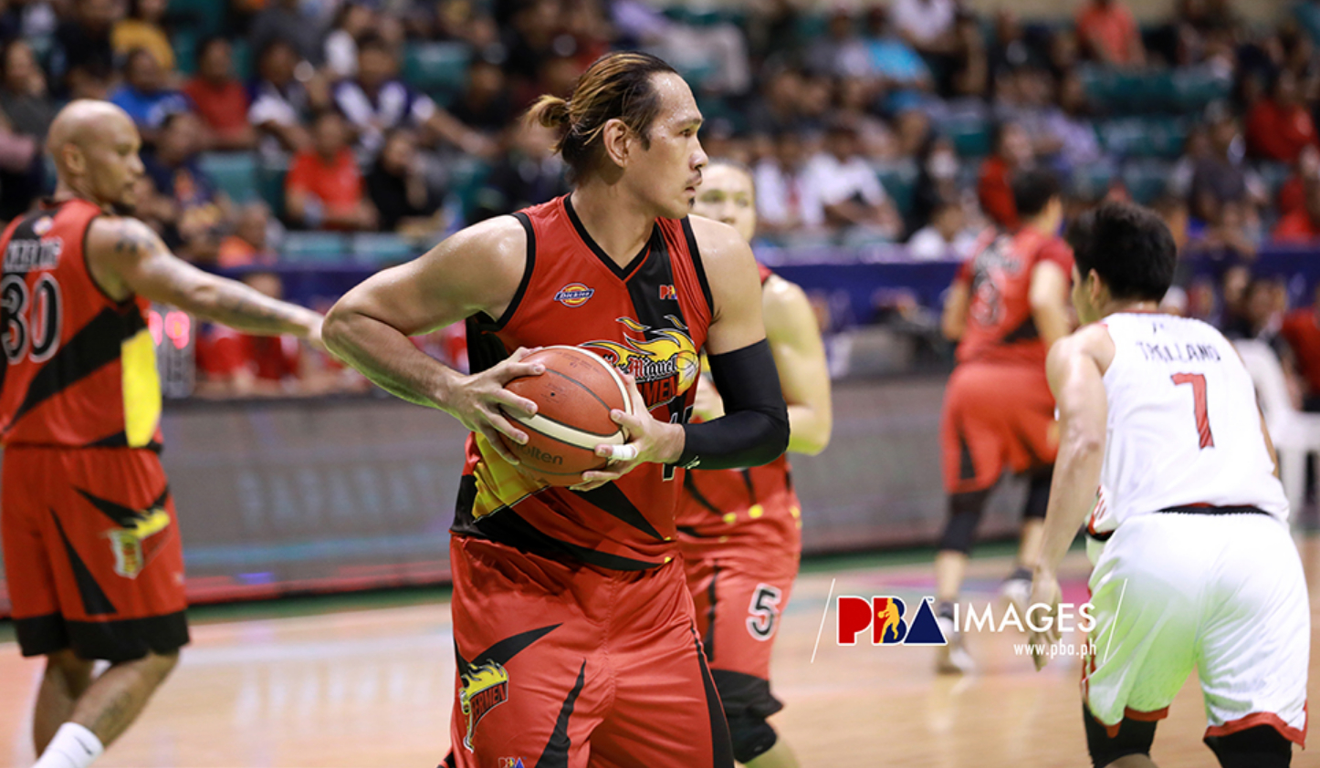 June Mar Fajardo Suffers Leg Injury, Out Indefinitely