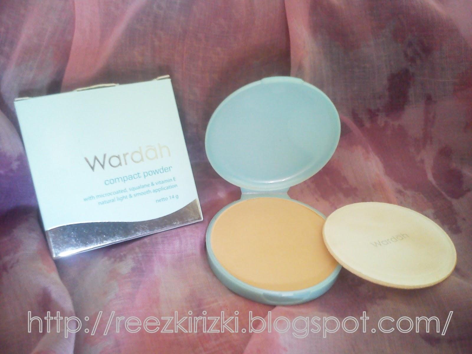 Reezki's Beauty Blog: Review : Wardah Compact Powder in no