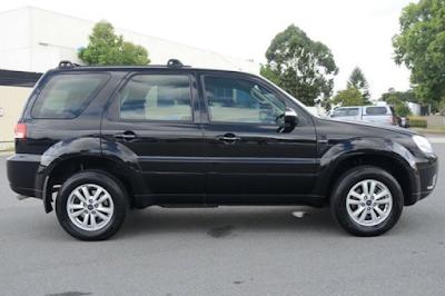 Eksterior Ford Escape Facelift Kedua