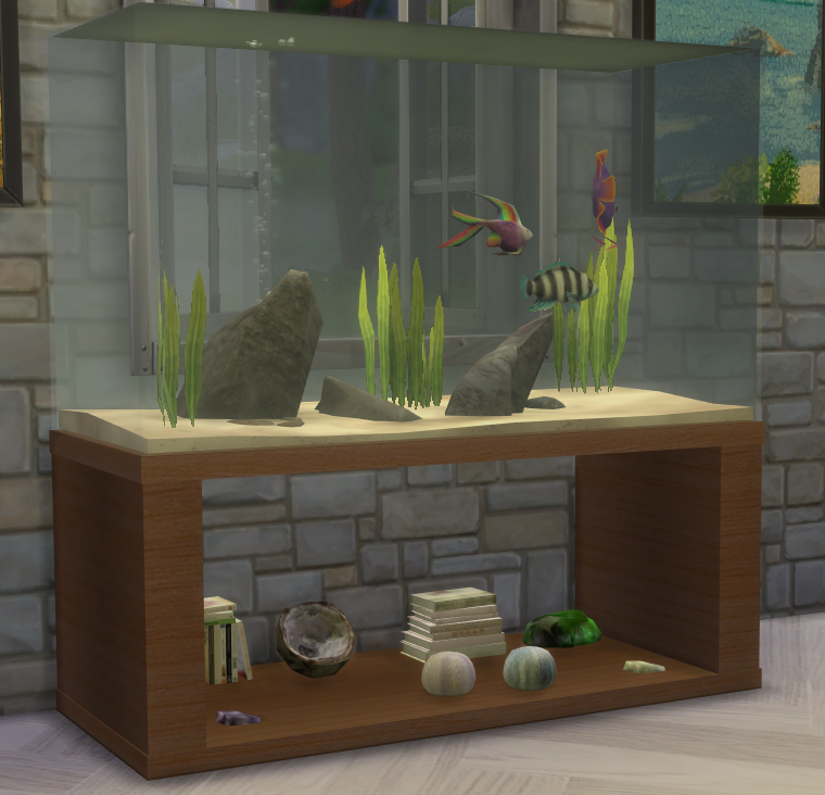 My sims 4 blog fish tanks and sea urchins by theshed for Sims 4 fishing