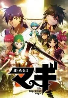 تقرير انمي Magi: The Labyrinth of Magic